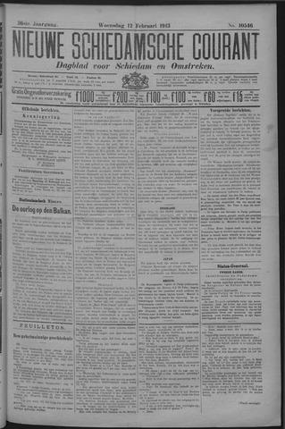 Nieuwe Schiedamsche Courant 1913-02-12