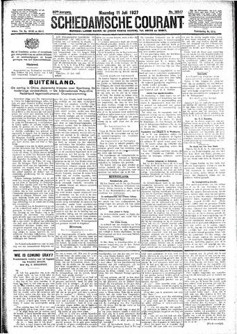 Schiedamsche Courant 1927-07-11