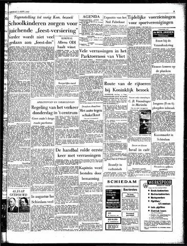 Rotterdamsch Parool / De Schiedammer 1962-09-11