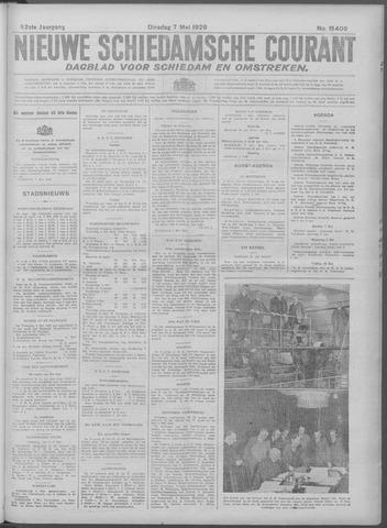 Nieuwe Schiedamsche Courant 1929-05-07