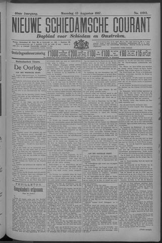 Nieuwe Schiedamsche Courant 1917-08-13
