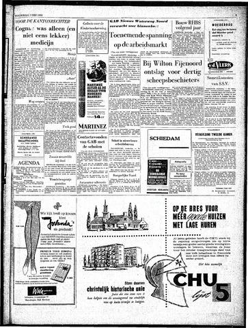 Rotterdamsch Parool / De Schiedammer 1963-05-09