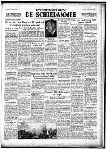 Rotterdamsch Parool / De Schiedammer 1948-02-06