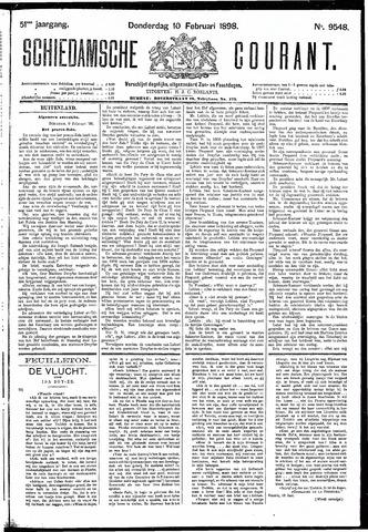 Schiedamsche Courant 1898-02-10