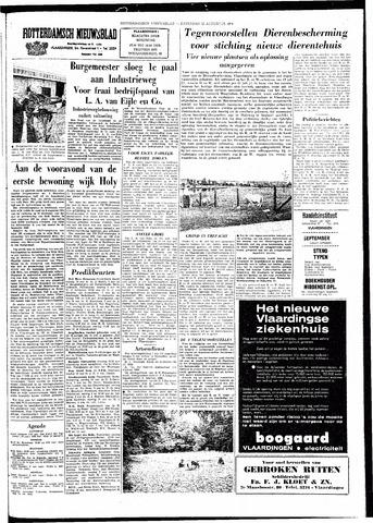 Rotterdamsch Nieuwsblad / Schiedamsche Courant / Rotterdams Dagblad / Waterweg / Algemeen Dagblad 1964-08-22