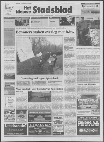Het Nieuwe Stadsblad 2004-01-28