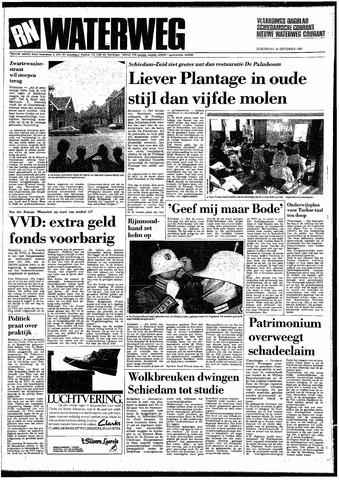 Rotterdamsch Nieuwsblad / Schiedamsche Courant / Rotterdams Dagblad / Waterweg / Algemeen Dagblad 1987-09-24