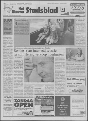 Het Nieuwe Stadsblad 2001-10-18