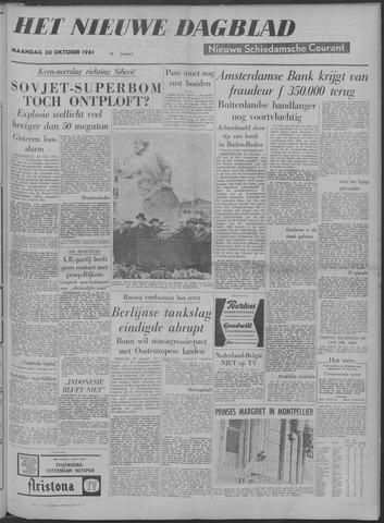 Nieuwe Schiedamsche Courant 1961-10-30