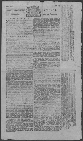 Rotterdamse Courant 1803-08-11