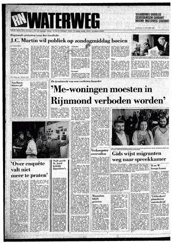 Rotterdamsch Nieuwsblad / Schiedamsche Courant / Rotterdams Dagblad / Waterweg / Algemeen Dagblad 1987-10-13
