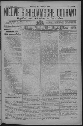 Nieuwe Schiedamsche Courant 1913-02-17