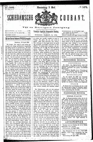 Schiedamsche Courant 1881-05-02