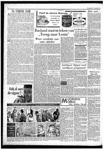 Rotterdamsch Parool / De Schiedammer 1957-11-07