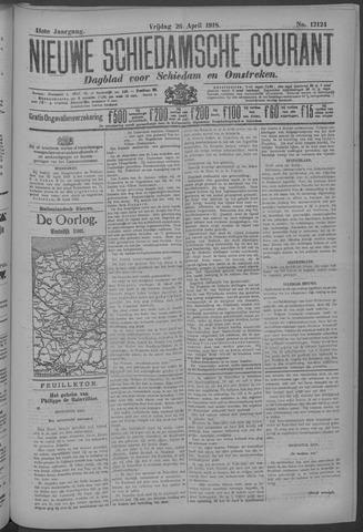 Nieuwe Schiedamsche Courant 1918-04-26
