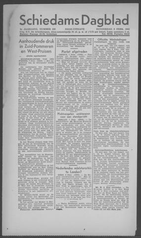 Schiedamsch Dagblad 1945-02-08