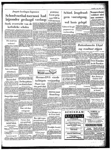 Rotterdamsch Parool / De Schiedammer 1964-04-01