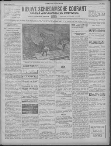 Nieuwe Schiedamsche Courant 1933-02-25