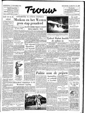 Trouw / De Rotterdammer 1955-11-17