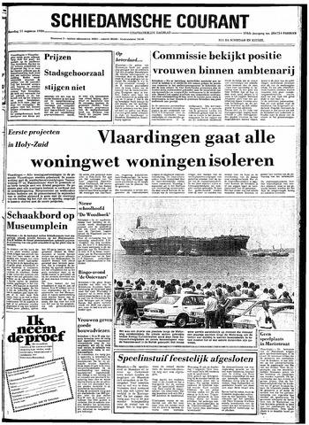 Rotterdamsch Nieuwsblad / Schiedamsche Courant / Rotterdams Dagblad / Waterweg / Algemeen Dagblad 1980-08-11