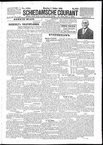 Schiedamsche Courant 1933-10-02