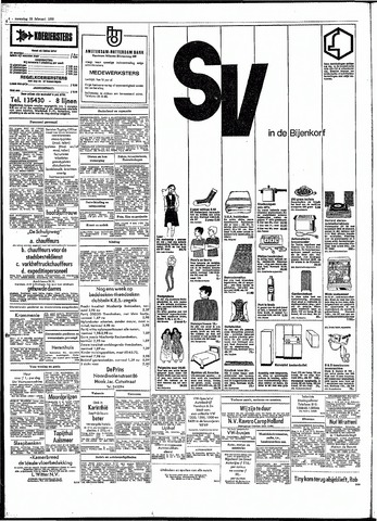 Rotterdamsch Parool / De Schiedammer 1970-02-23