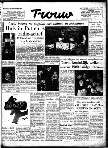 Trouw / De Rotterdammer 1958-01-20