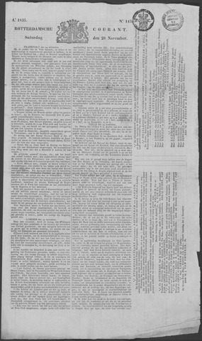 Rotterdamse Courant 1835-11-28