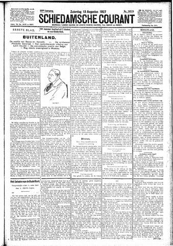 Schiedamsche Courant 1927-08-13