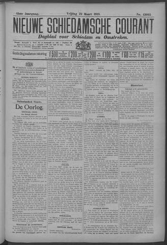 Nieuwe Schiedamsche Courant 1918-03-22