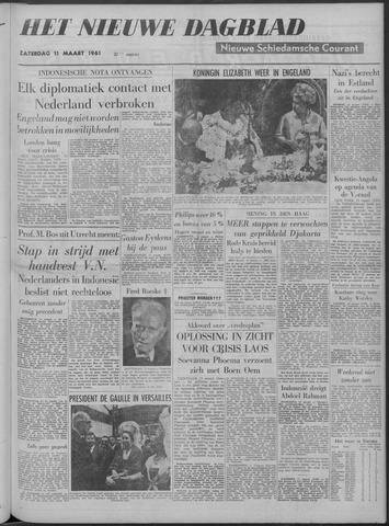 Nieuwe Schiedamsche Courant 1961-03-11