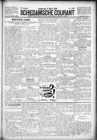 Schiedamsche Courant 1929-04-11