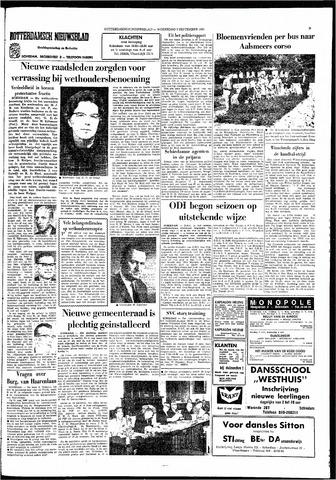 Rotterdamsch Nieuwsblad / Schiedamsche Courant / Rotterdams Dagblad / Waterweg / Algemeen Dagblad 1966-09-07
