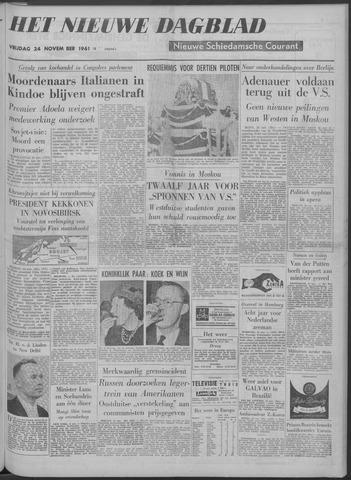 Nieuwe Schiedamsche Courant 1961-11-24