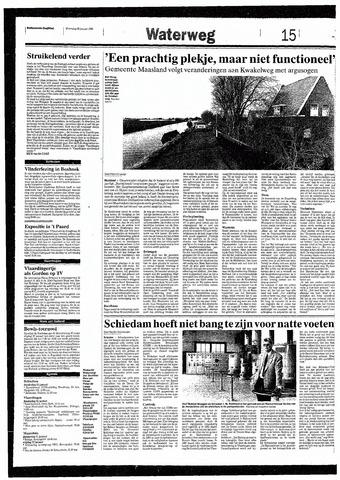 Rotterdamsch Nieuwsblad / Schiedamsche Courant / Rotterdams Dagblad / Waterweg / Algemeen Dagblad 1993-01-20