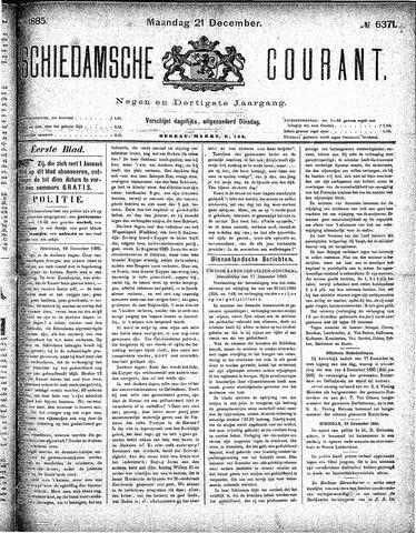 Schiedamsche Courant 1885-12-21