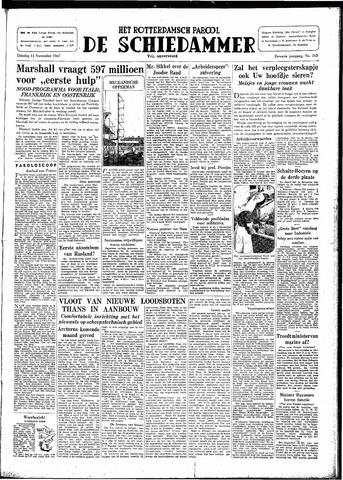 Rotterdamsch Parool / De Schiedammer 1947-11-11