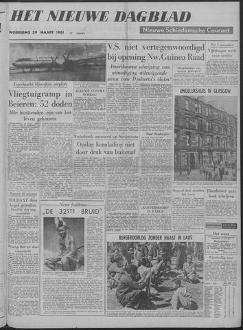 Nieuwe Schiedamsche Courant 1961-03-29