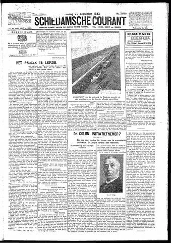 Schiedamsche Courant 1933-09-26