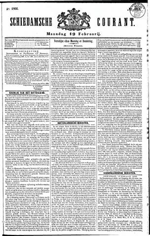 Schiedamsche Courant 1866-02-19