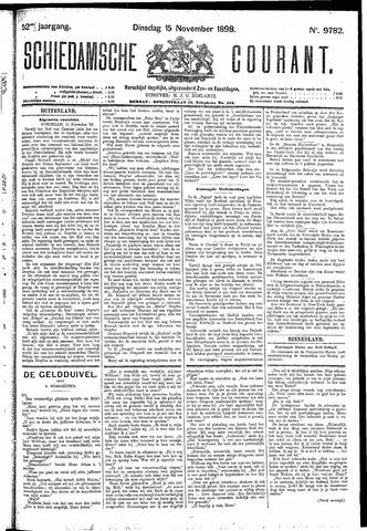 Schiedamsche Courant 1898-11-15