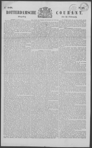Rotterdamse Courant 1848-02-22