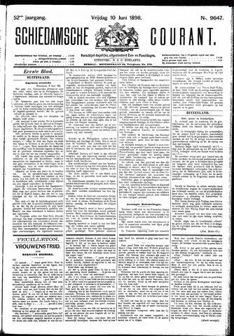 Schiedamsche Courant 1898-06-10