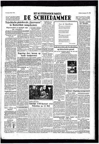 Rotterdamsch Parool / De Schiedammer 1948-05-04