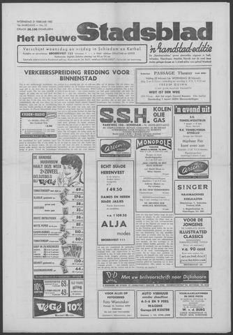 Het Nieuwe Stadsblad 1962-02-21