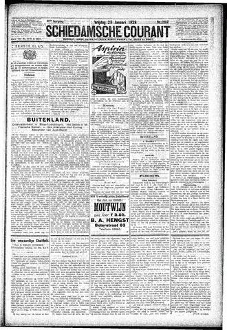 Schiedamsche Courant 1929-01-25