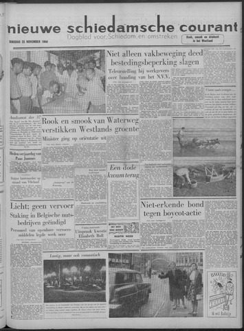Nieuwe Schiedamsche Courant 1958-11-25