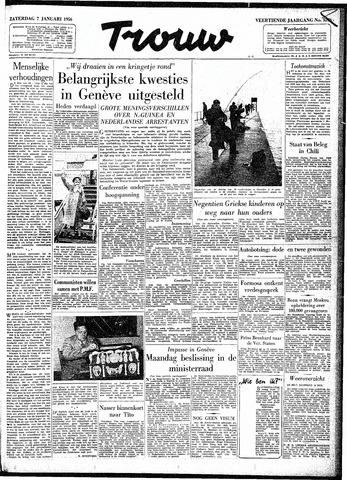 Trouw / De Rotterdammer 1956-01-07