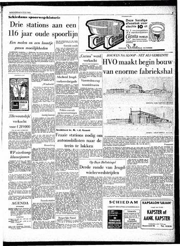 Rotterdamsch Parool / De Schiedammer 1963-07-04