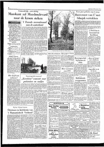Rotterdamsch Parool / De Schiedammer 1955-12-13